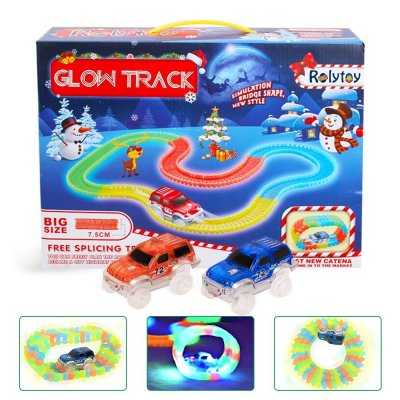 acheter Circuits de voitures Magic Glow Track DNYCF Circuit Flexible (3.57 mètres)